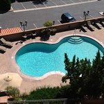 Pool close to our building as viewed from balcony