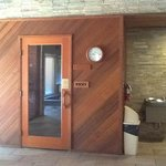 Sauna at Clubhouse
