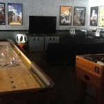 Game area at Clubhouse