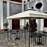 Internal patio area