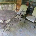 Sophias Sapphire-part of the deck area