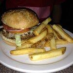 Hamburger and Fries, Beantown Pub, Boston