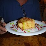 The fried key lime pie, it was awesome!