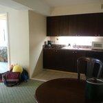Hotel Room Modern Kitchen