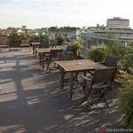 Best Western Hotel Galles Milan the larger rooftop area