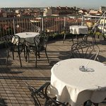 Best Western Hotel Galles Milan the mini rooftop area