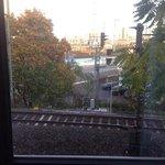 Vista ferrovia e relativi rumori notturni..