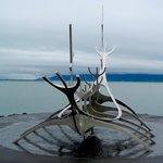 Eines der Wahrzeichen Reykjaviks