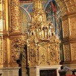 En el retablo central