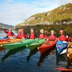 Kayaking in Killary fjord