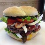 Half Pound King Louis Burger