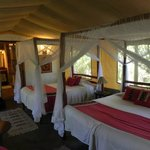 intérieur tente