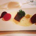 North Sea Schol, beet root Quinoa, Verveine Foam