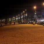 Пляж Эль-Ареналя вечером!