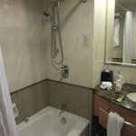The hotel bathroom needs some renovation. Does not feel like 5 stars.