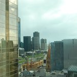 View of Yarra River and Flinders St station from room!
