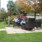 relax nel giardino esterno
