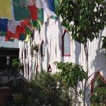 Rooftop....Prayer Flags...Wonderful!