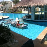 Pool bar område