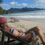 Пляж самый уютный и чистый