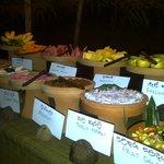 Food served in Sri Lankan clay pots