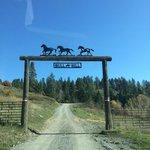 Bull Hill entry gate