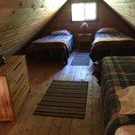 Cabin Loft area