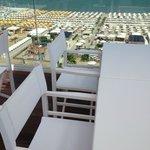 vista sulla spiaggia Le Palme -  Bagni 88/89