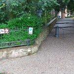 Entrance to the Castello