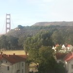 View of Golden Gate from newer rooms.