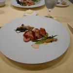 メインのシャラン産鴨肉