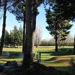 Vista do campo de Golf