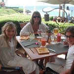 Ferraro's for lunch..Mama & her girls!