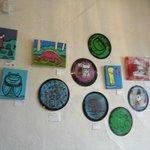 The lobby art