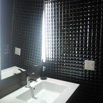 O banheiro do lobby é lindo!!