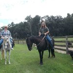 Riding at Young's Paso Fino Ranch