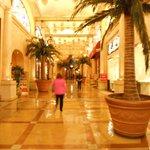 Shopping centres inside casinos