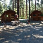 Our Camping Cabins
