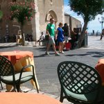 Nice little bar in Taormina