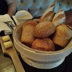 Bread basket served with dinner