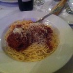 spaghetti and meatballs (yum)