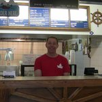 Ziggy's Fish and Chips owner, Tim White.