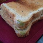 Mold on the toast delivered to our room at breakfast. Unacceptable for the money we're paying to