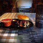 Fantastic BBQ pork sandwich at Germantown Commissary