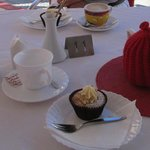 Nice tea, coffee and cake