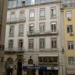 Hotel, Straßenfront