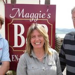 Celebrity chef James Martin comes to film at Maggie's