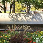 Purdue sign by Union