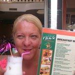 Pina Colada Breakfast Shake