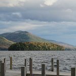 Lake George NY scene from the Sagamore's boat tour 'round the Lake